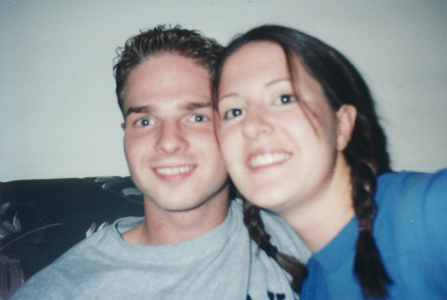 Me and Kristi, not long before graduation in 2001.
