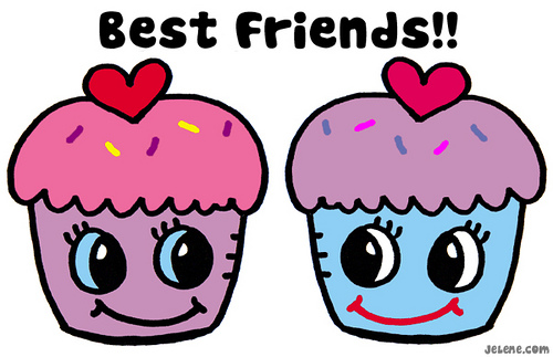 best friend cupcakes
